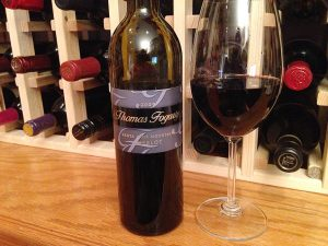 Thomas Fogarty Santa Cruz Mountains Merlot