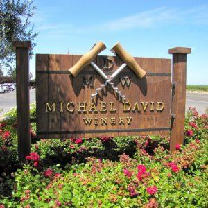 MD wine sign