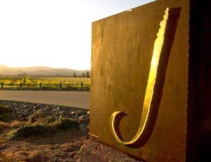 J Winery entrance