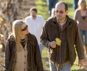 Denis Malbec and his wife and fellow winemaker, May-Britt