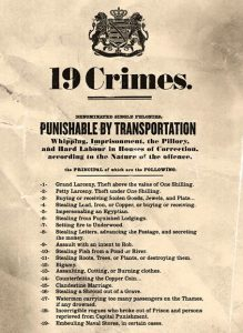 List of the 19 crime