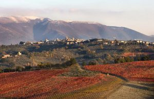 Umbria and mountains