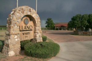 Llano Estacado winery entrance
