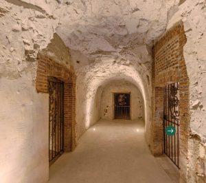 Perrier-Jouët's cellars