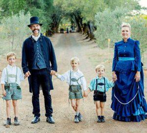 Hugh Davies, wife Monique, their children celebrate winery 150th anniversary