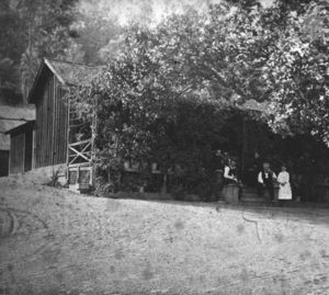Schramsberg winery in 19th century